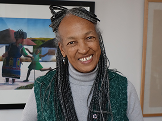 Betty Burkes, peace educator