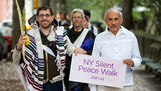 Jack Cornfield NY Silent Peace Walk