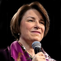 Senator Amy Klobuchar questioning Supreme Court nominee Brett Kavanaugh